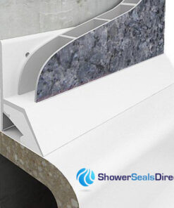 Seals for shower walls panels